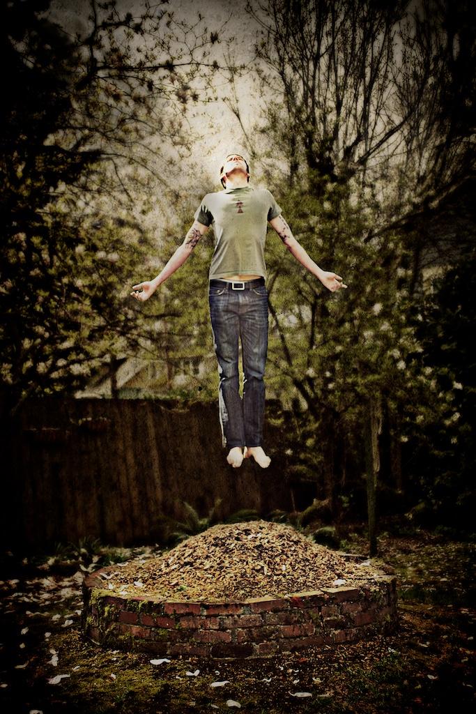levitating girl wallpaper - photo #45