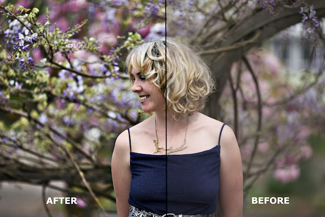 how to change contrast in photoshop