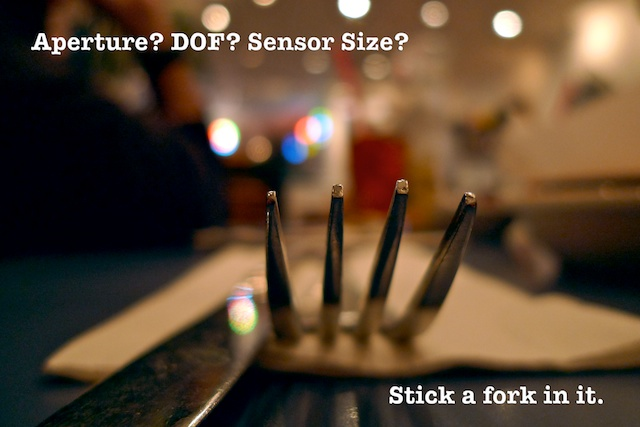 How do aperture and focal length affect the DOF or exposure on ...