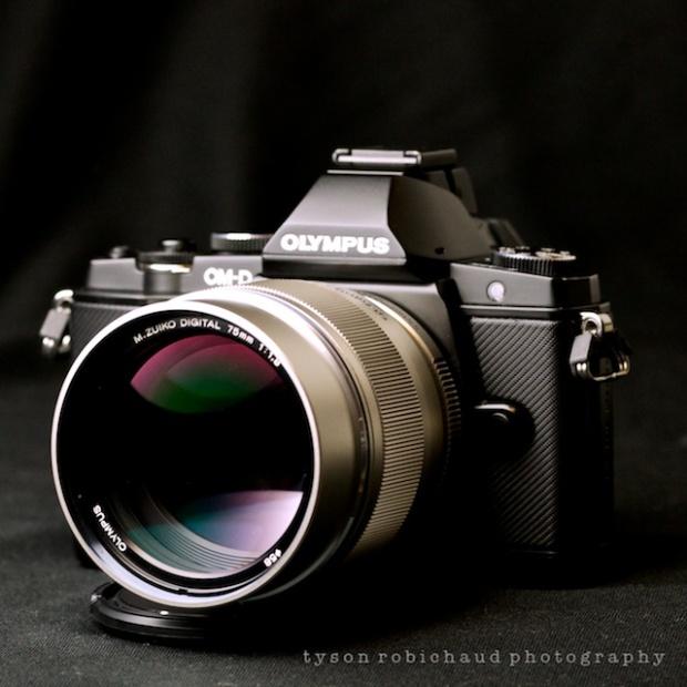 Oly 75mm f/1.8 Lens OMD EM5