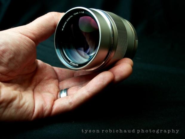 Oly 75mm f/1.8 Lens