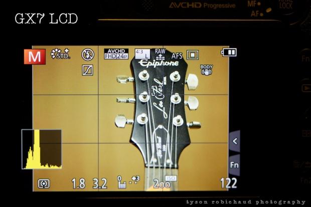 GX7 LCD