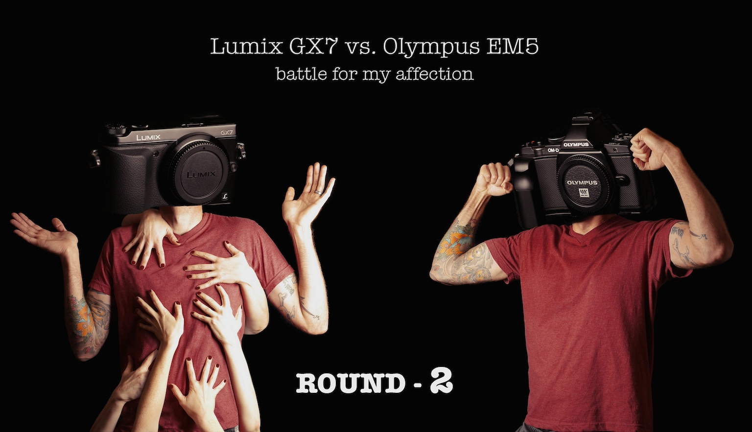 The GX7 vs the OM-D E-M5, battle for my affection, Round 2 – Build