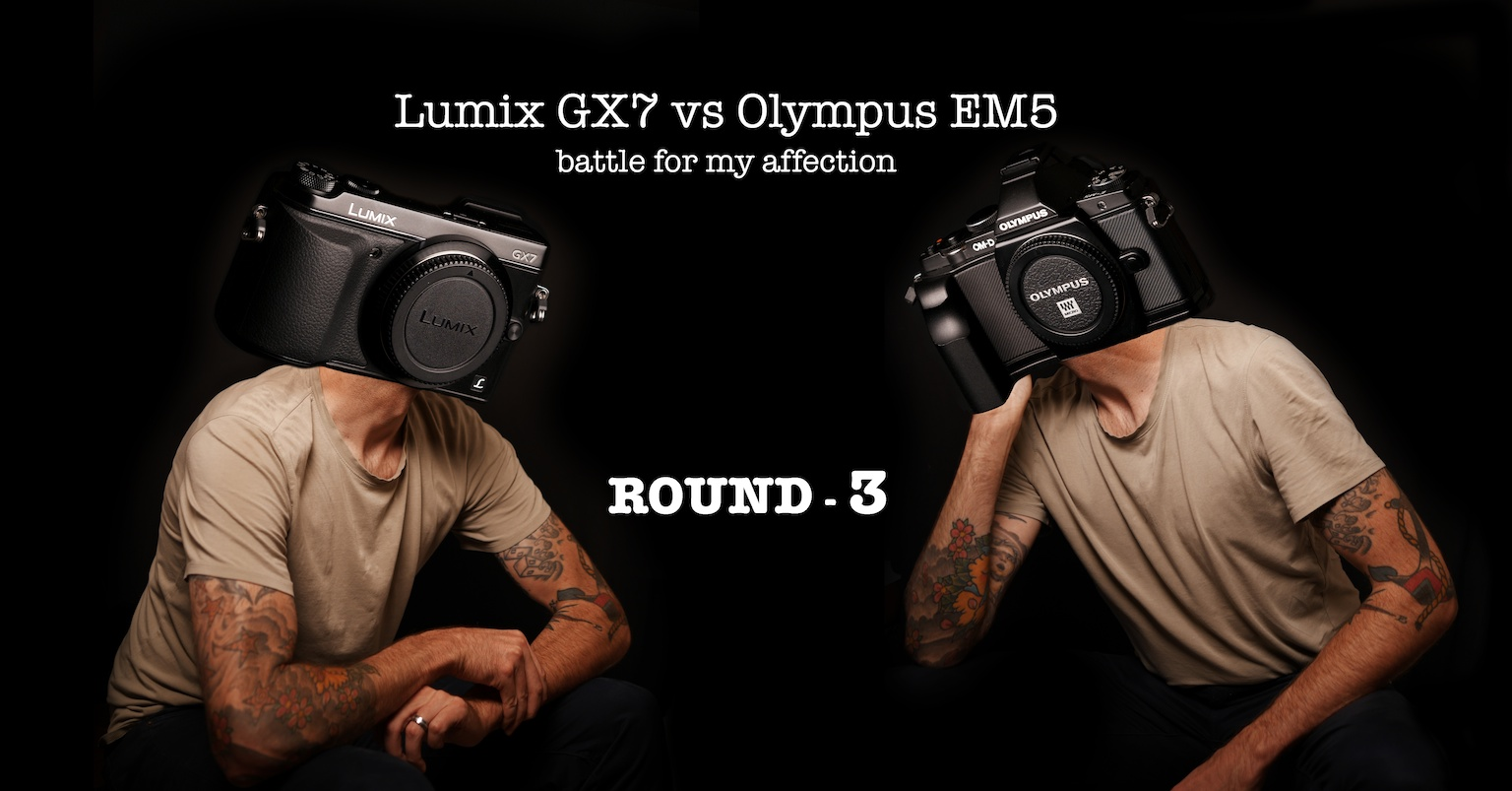 The Gx7 Vs Om D E M5 Battle For My Affection Round 3 Iq Olympus M10 Mark Iii Kit 14 42mm F 35 56 Ez Silver Round3