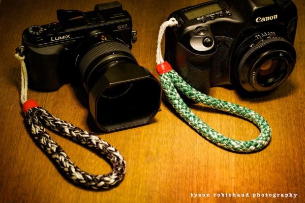 T&T camera wrist straps