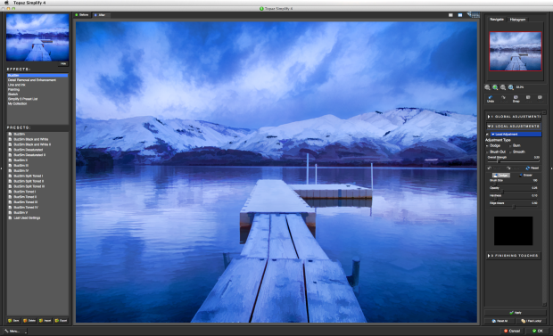 topaz simplify 4 screen shot
