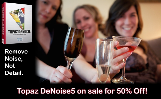 Topaz DeNoise5 On Sale