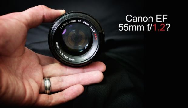 Canon EF 55mm f/1.2
