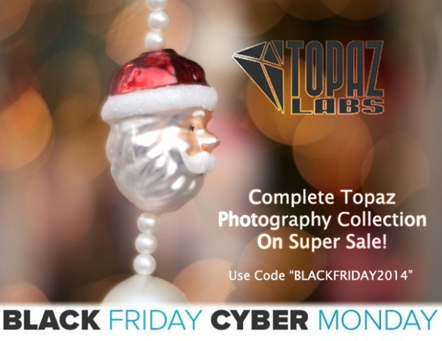 topaz complete photography collection sale black friday cyber monday discount code
