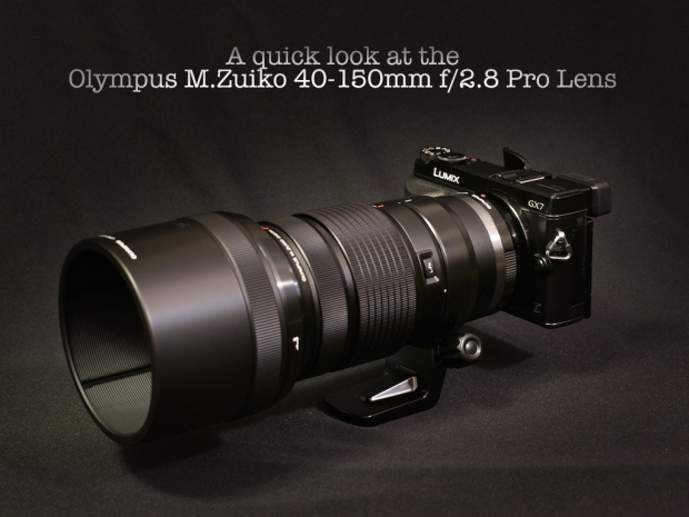 Olympus m.zuiko 40-150mm f/2.8 Pro Lens review