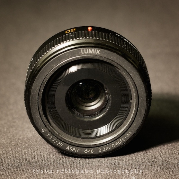 Panasonic Lumix 20mm f/1.7 ASPH lens