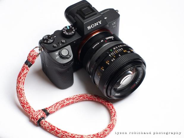 FD 55mm f/1.2 SSC on Sony a7II