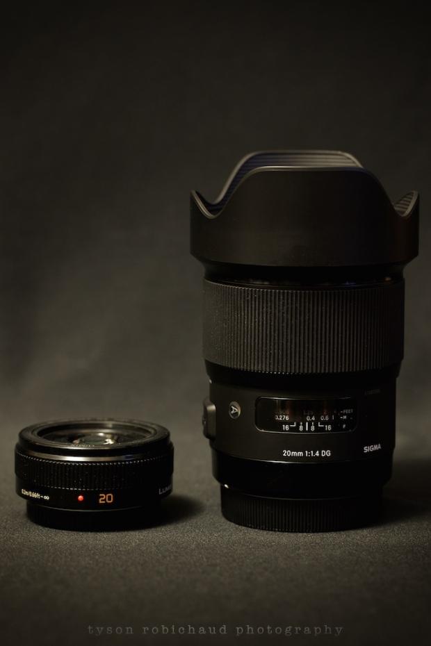 20mm f/1.7 vs 20mm f/1.4