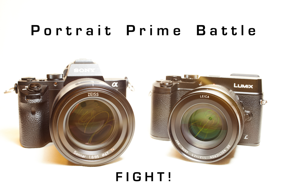 Battle of some Portrait Primes. Full Frame vs m4/3, Zeiss vs Leica ...